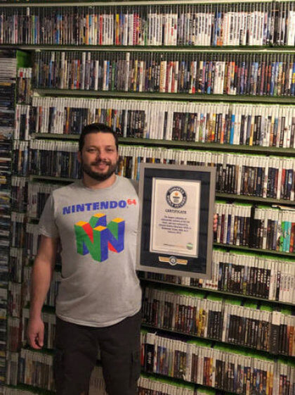 Guinness-Rekord: Weltgrößte Spielesammlung (2019)