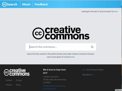 Creative Commons Suchmaschine CC Search