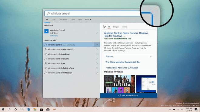 Windows 10: Runde Ecken