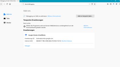 Firefox Zertifikats-Fehler