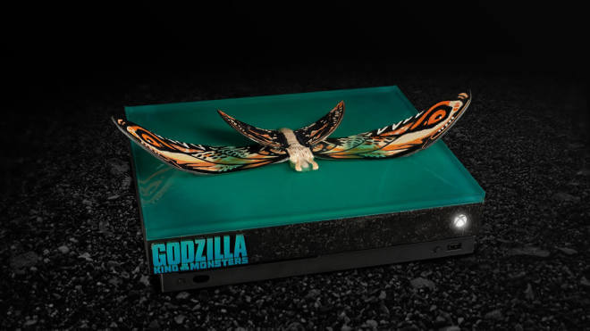 "Xbox One X ""Godzilla: King Of The Monsters"" Custom Design"
