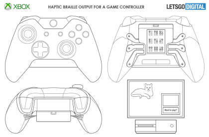 Braille-Controller für Xbox