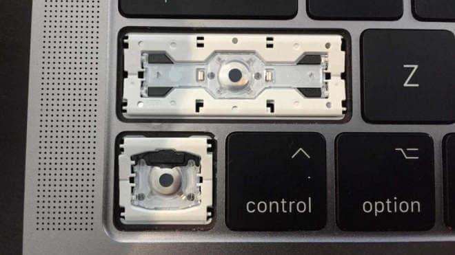 Macbook Butterfly Tastatur Analyse