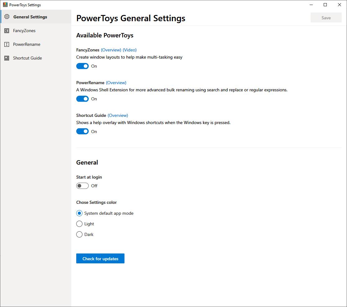 PowerToys für Windows 10