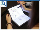 Lenovo: Faltbares Tablet (Fotos: Engadget)
