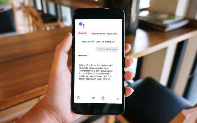 media markt google assistant soll beim kauf von 4k. Black Bedroom Furniture Sets. Home Design Ideas