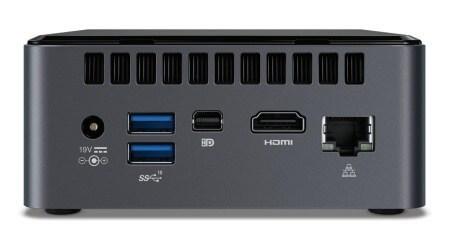 Intel NUC8 Mainstream-G Mini-PC