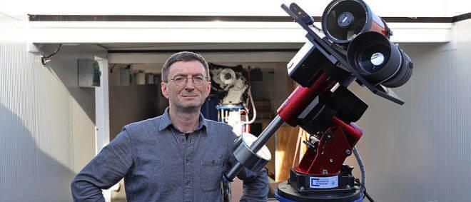 Mondteleskop von Professor Hakan Kayal