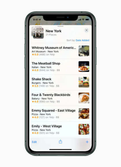 Apple Maps iOS 13