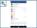 Facebook-App für Windows 10 Mobile