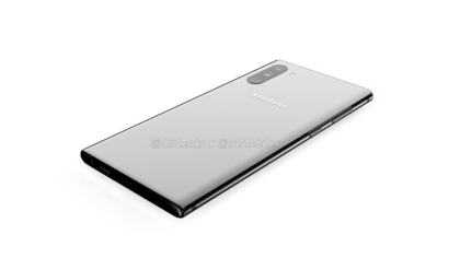 Samsung Galaxy Note 10 Renderings