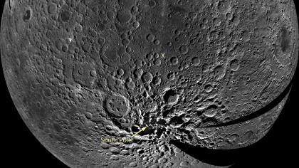 Mond: Überraschung am Südpol-Aitken-Becken