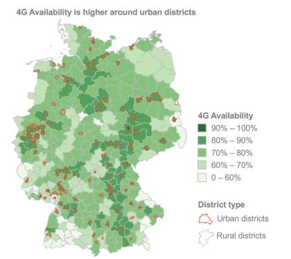 LTE-Status in Deutschland
