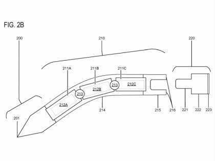 Microsoft-Patent flexibler Stylus