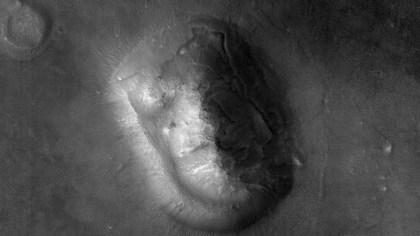 Nasa: Star-Trek-Logo auf dem Mars