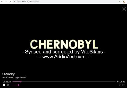 Chernobyl: Untertitel bei Sky Switzerland