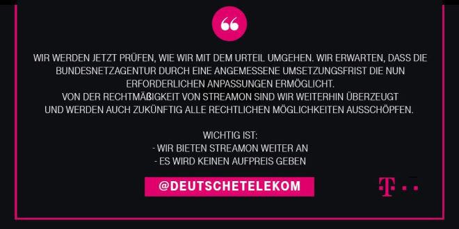 Telekom StreamOn Gaming gratis