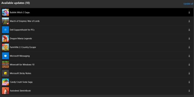 Geister-Updates für Microsoft Store Apps