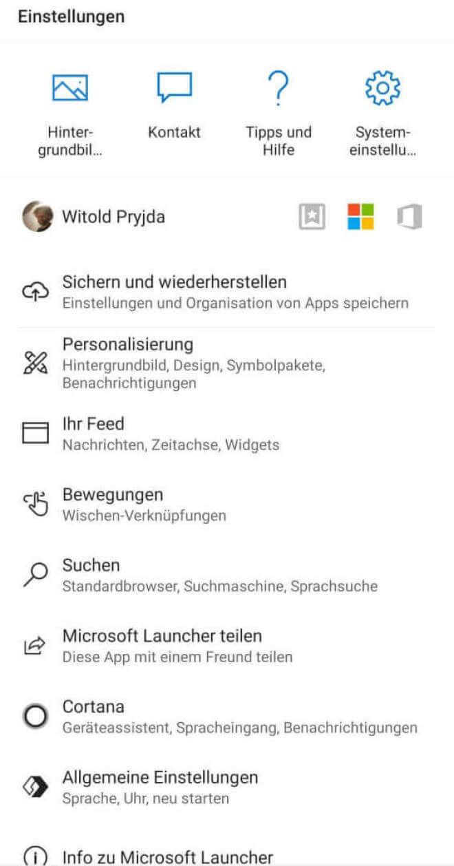 Microsoft Launcher 5.6