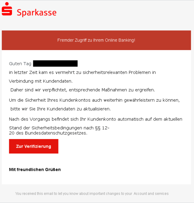 Phishing mit QR-Code