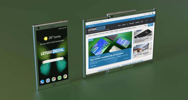 Samsung Rollable Smartphones