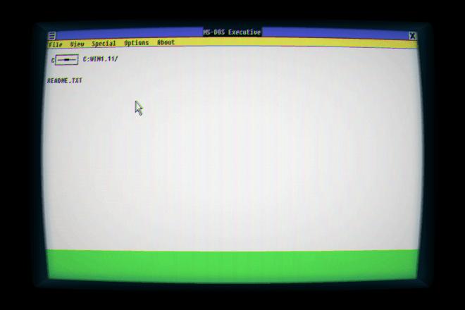 Windows 1.11 App