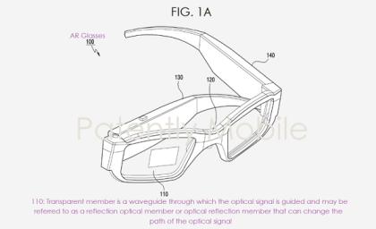 Samsung AR-Brille Patent