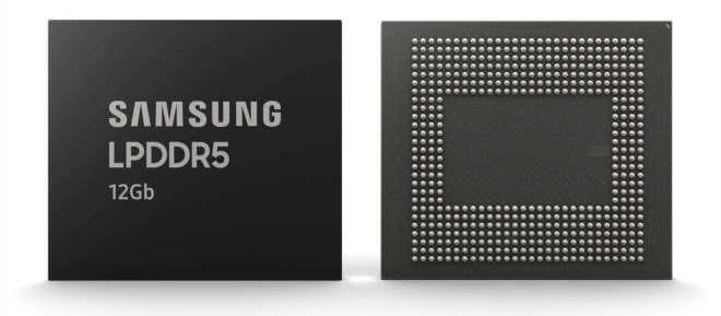 Samsung LPDDR5 12Gb RAM