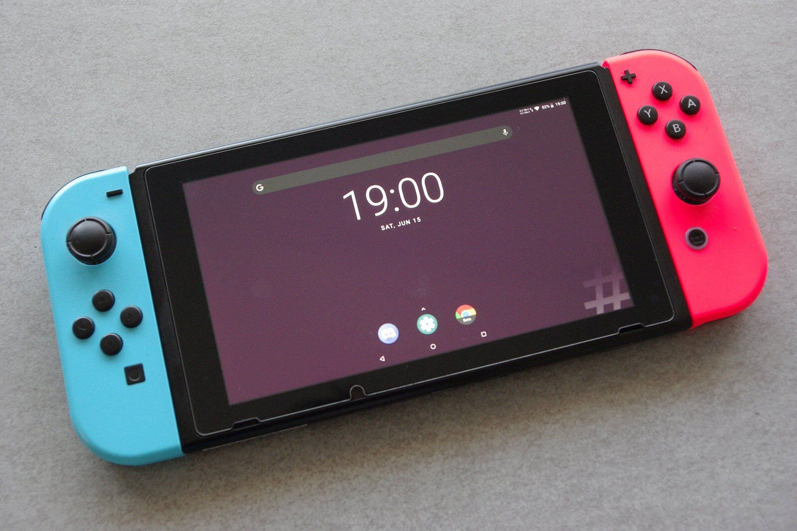 Android ROM für Nintendo Switch