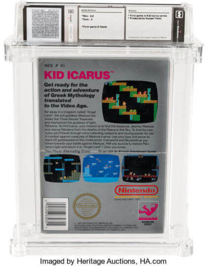 Kid Icarus-Auktion bei Heritage Auctions