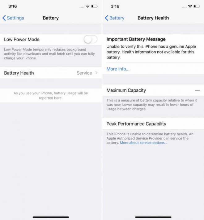 iFixit: Apple deaktiviert Akku-Gesundheitsfunktion