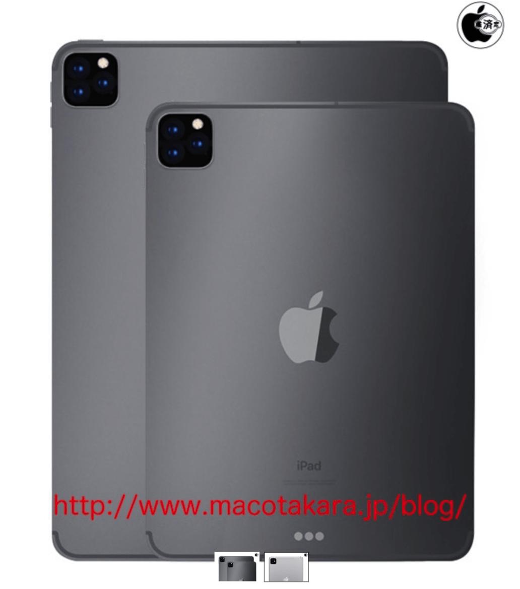 Apple iPad Triple-Cam