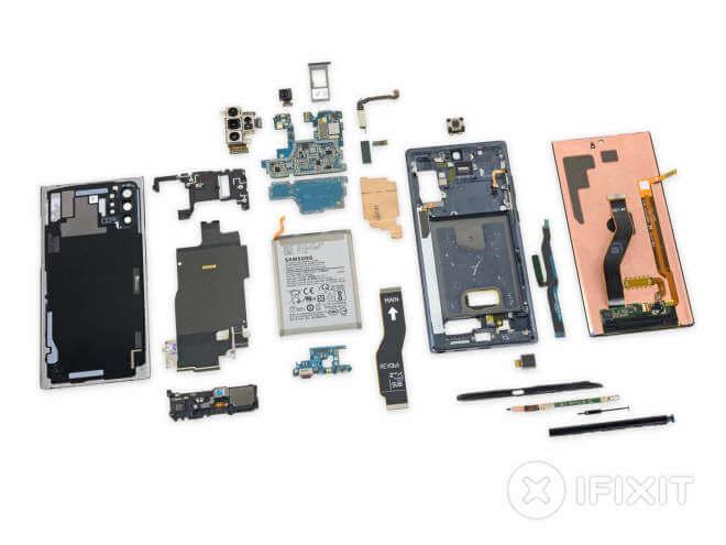 Samsung Galaxy Note 10+ 5G iFixit