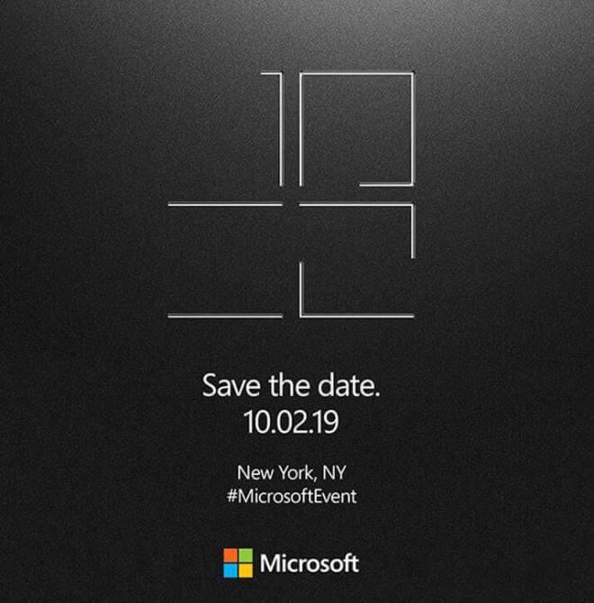 Surface Event 2. Oktober New York City