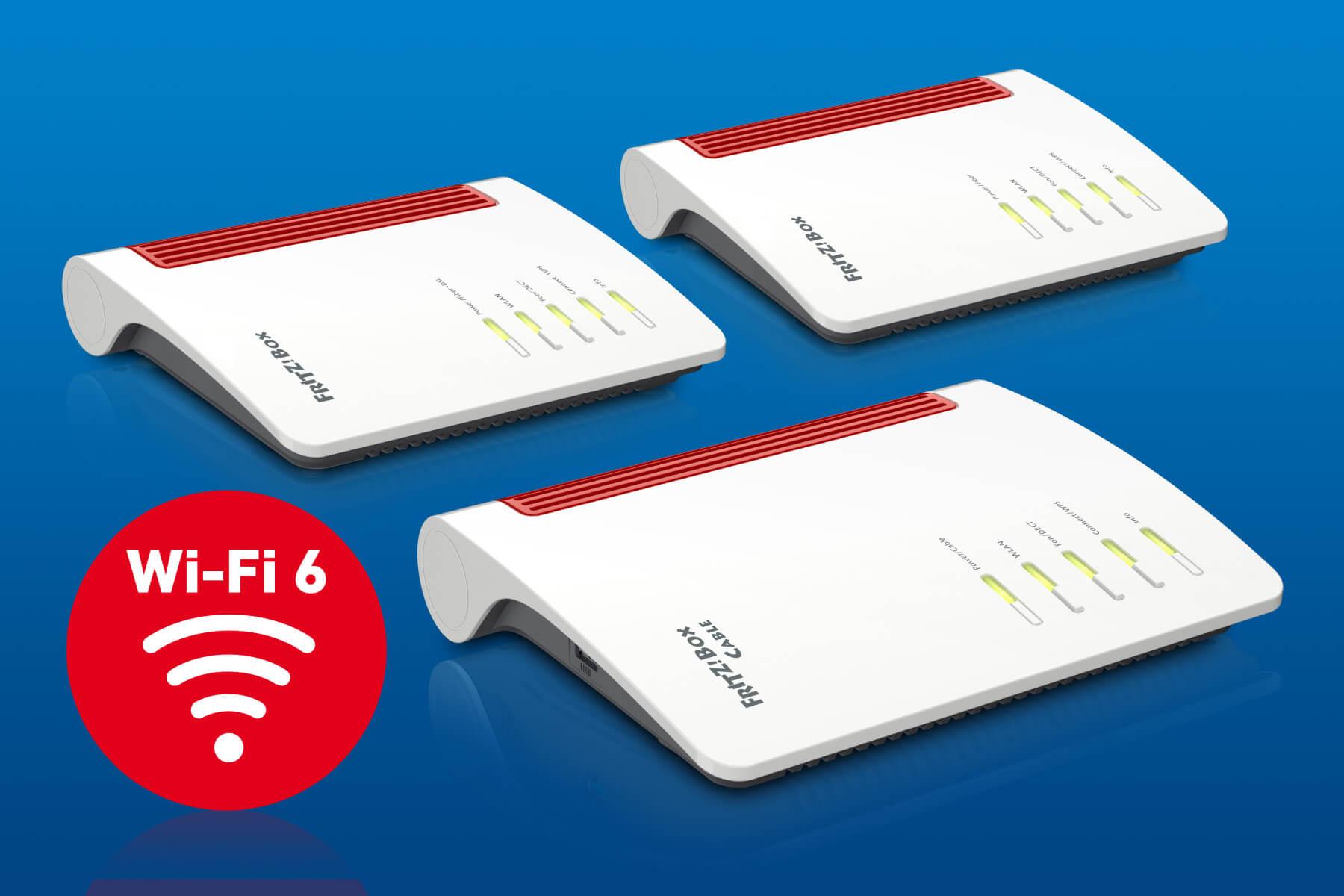 AVM FritzBox 5550, 5530 & 6850 5G