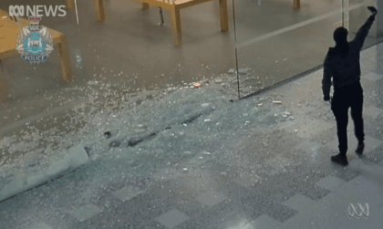 Einbrüche in Apple Stores in Perth