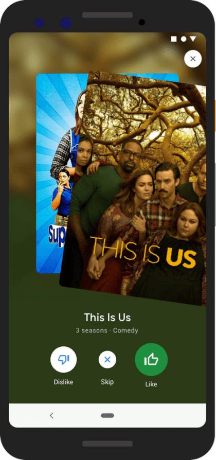 Google-Tipps für TV-Serien und Filme