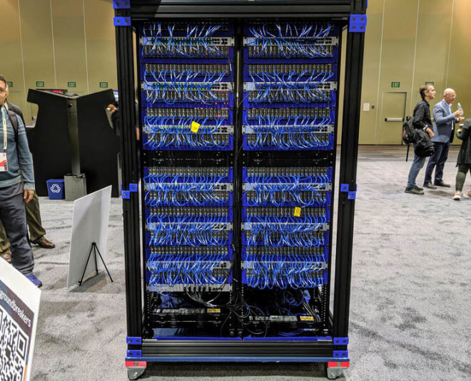 Oracle Raspberry Pi 3B+-Cluster