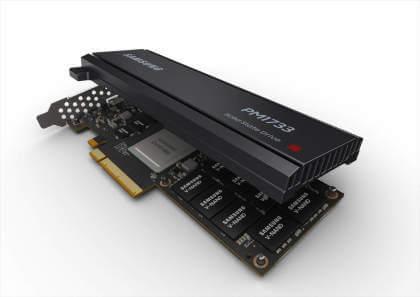 Samsung-SSDs PM1733 und PM1735