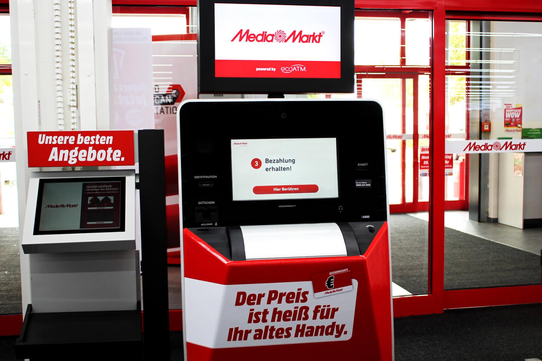 Altgeräte-Automat bei Media Markt