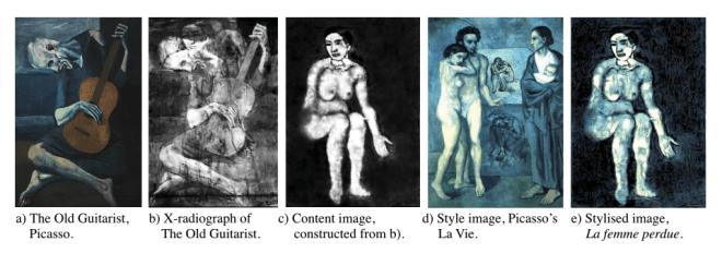 """Jäger der verlorenen Kunst"": Picasso Rekonstruktion"
