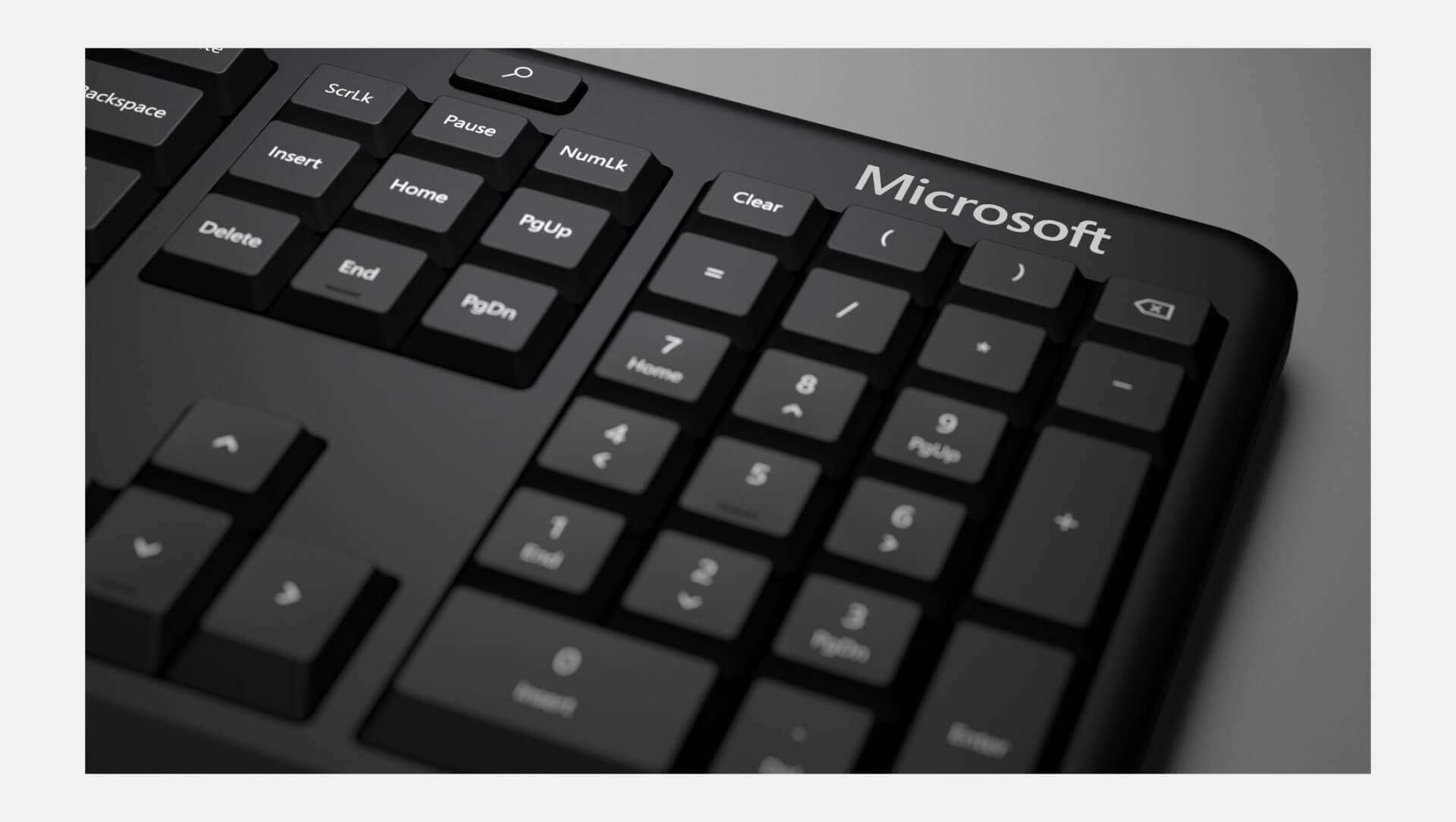 Microsoft Classic Ergonomic Keyboard