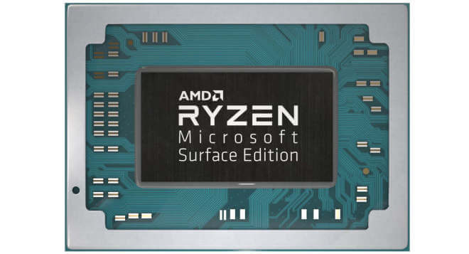 AMD Ryzen Microsoft Surface Edition