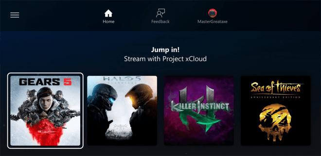 Die Spiele der xCloud-Beta