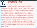 Beispiele für YouTube-Horror-Storys