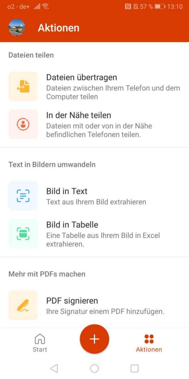 Office-App für Android