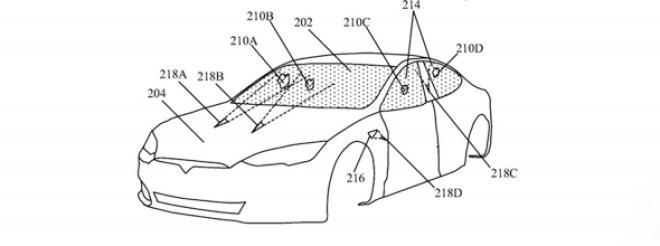 Tesla: Laser zur Scheibenreinigung