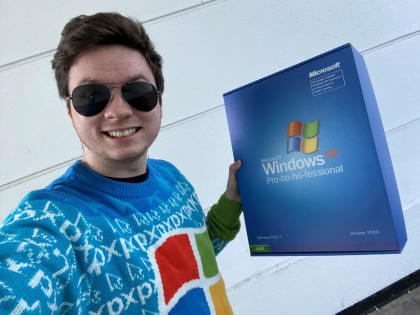 Microsoft Ugly Christmas Sweater 2019