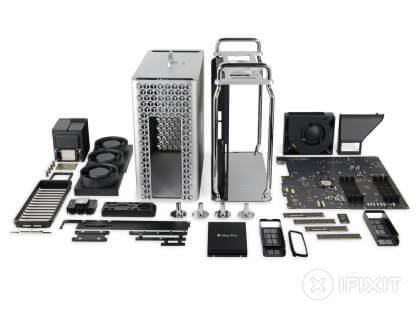 Teardown Mac Pro (2019) von iFixit