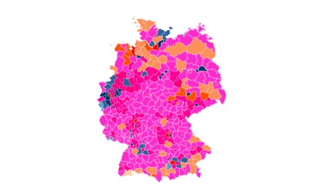 Mobilfunk-Versorgung in Deutschland